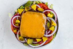 big mac salad bowl assembly