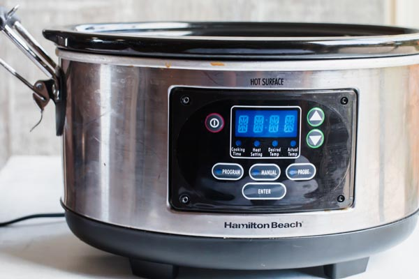 slow cooker for hot chocolate