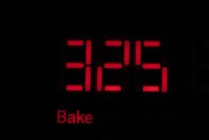 red led light 325 bake