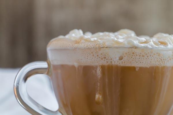 cup of creamy keto coffee