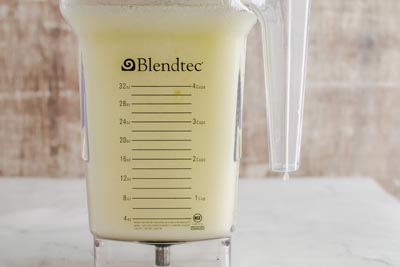 blended keto margarita