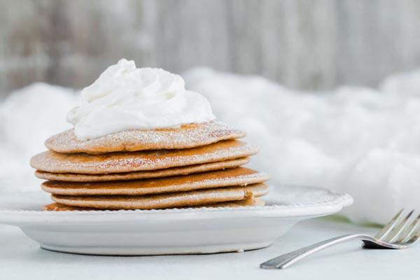 gingerbread pancakes for keto breakfast