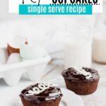 two hostess chocolate cupcakes