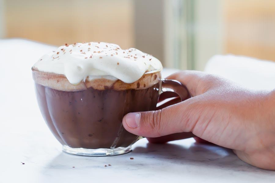 kid friendly no sugar hot chocolate