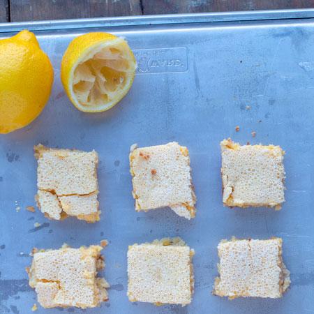 keto lemon bars - yum
