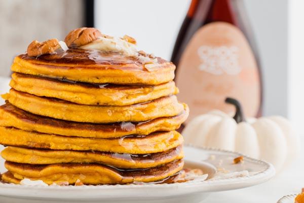 choczero syrup on pancakes