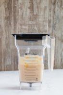 keto pancake batter in a blender